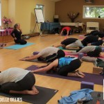 Vandana, postración ante Dios en Bhakti Yoga