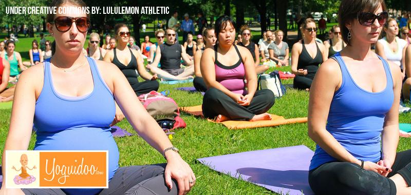 Yoga para la futura mamá