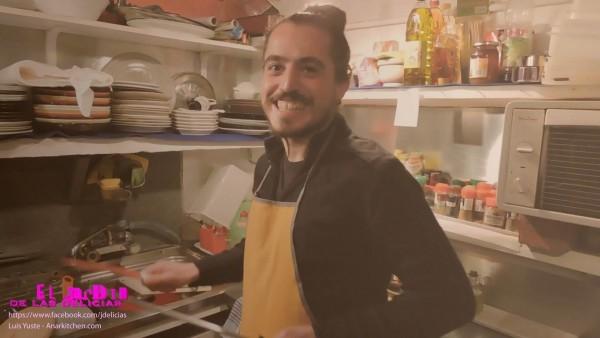 Luis F. Yuste cocinero del Jardín de las Delicias
